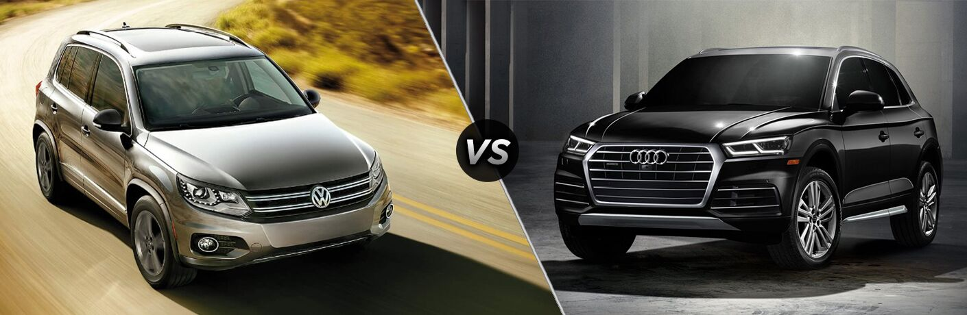 2018 Volkswagen Tiguan vs 2018 Audi Q5