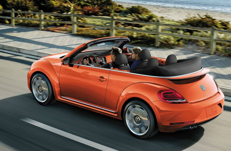 2019 Volkswagen BeetleConvertible driving on a road