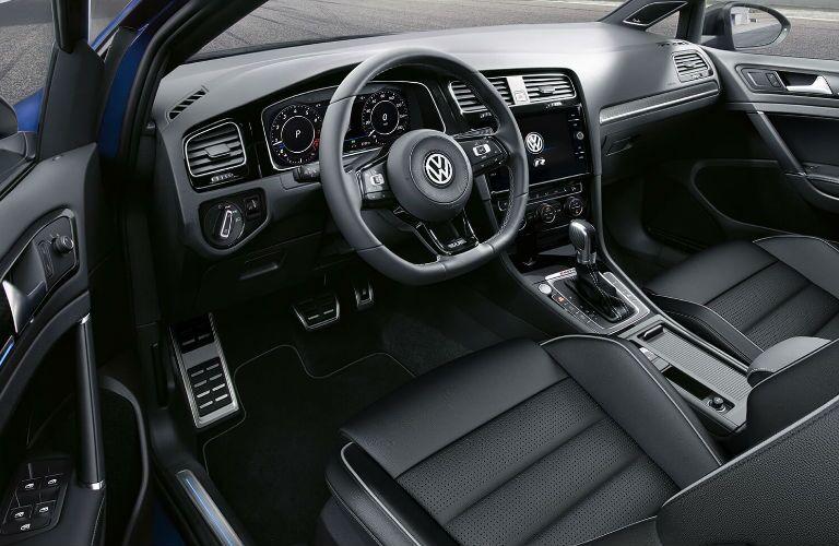 2019 Volkswagen Golf R front interior