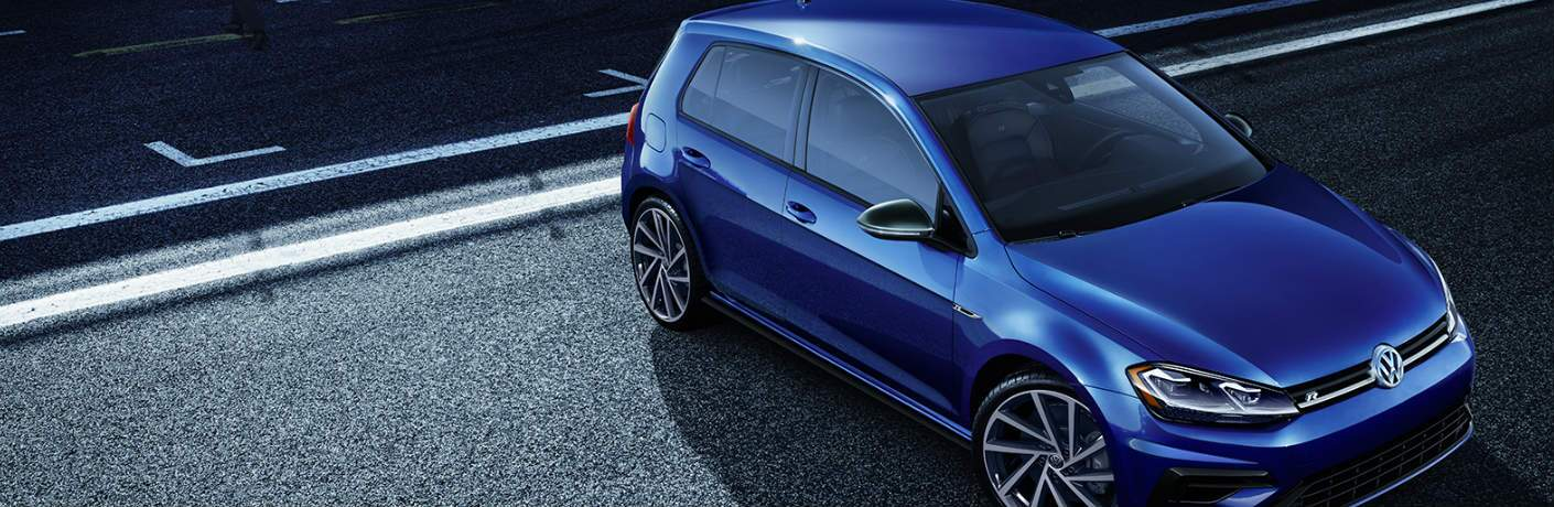 2019 Volkswagen Golf R parked on a road