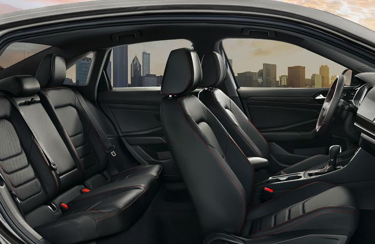 2019 Volkswagen Jetta GLI interior passenger seats