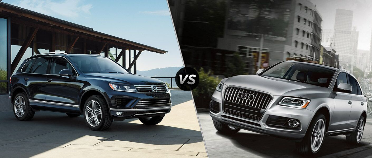 2016 Volkswagen Touareg vs. 2016 Audi Q5