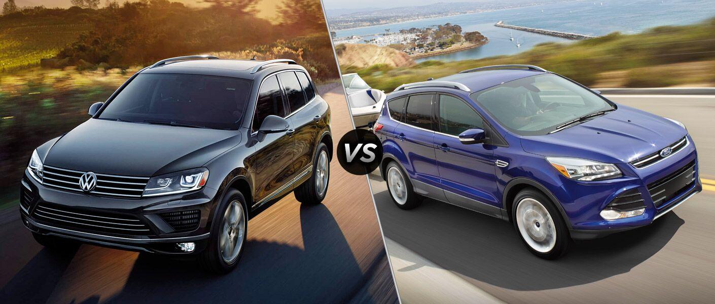 Vic Bailey Vw >> 2016 Volkswagen Touareg vs. 2016 Ford Escape