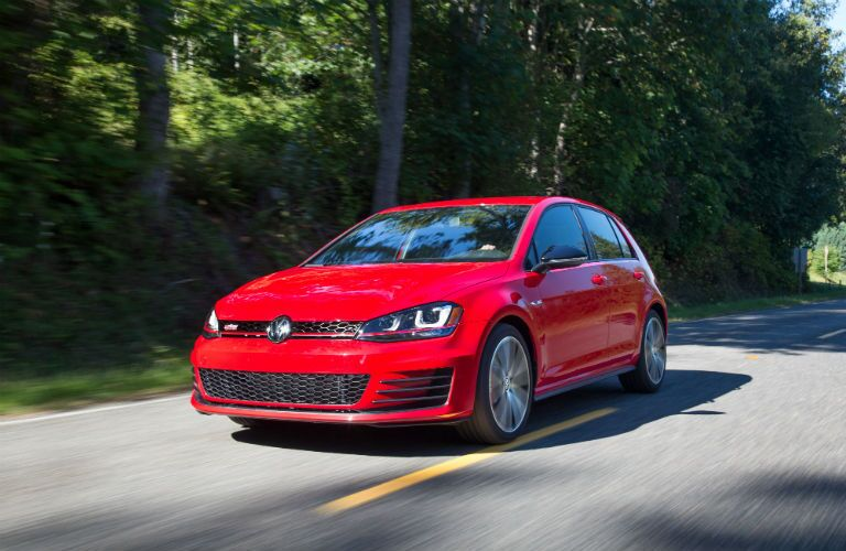 Only four door models of the 2017 VW Golf GTI available