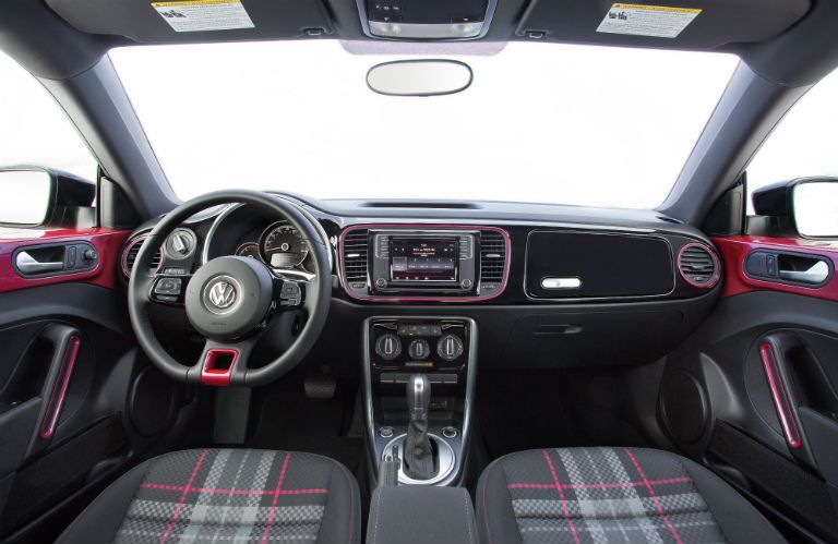 Pink interior a limited edition option for 2017 VW Beetle in Spartanburg, SC