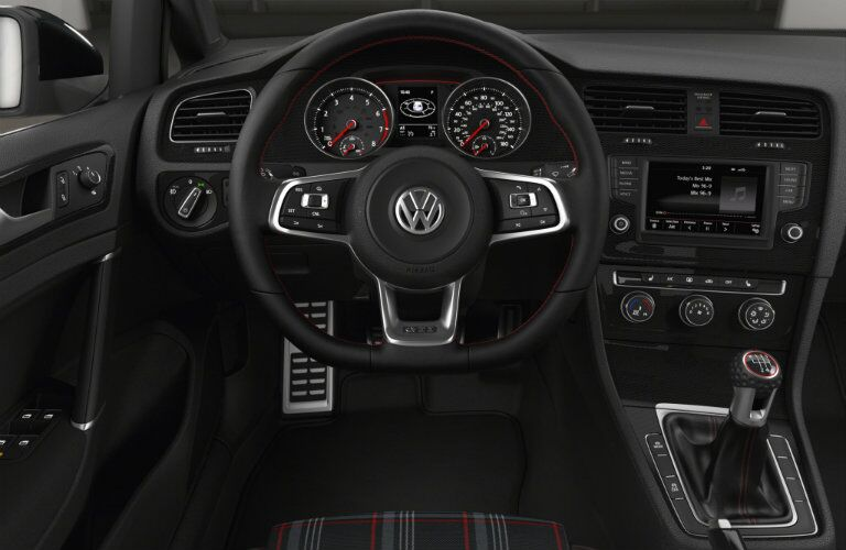 2016 VW Golf GTI interior technology and features