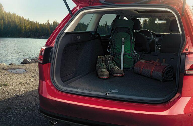 2017 Volkswagen Golf Alltrack Cargo Space