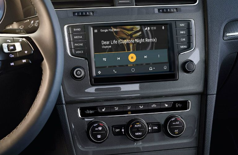 2017 Volkswagen Golf Alltrack Optional infotainment System