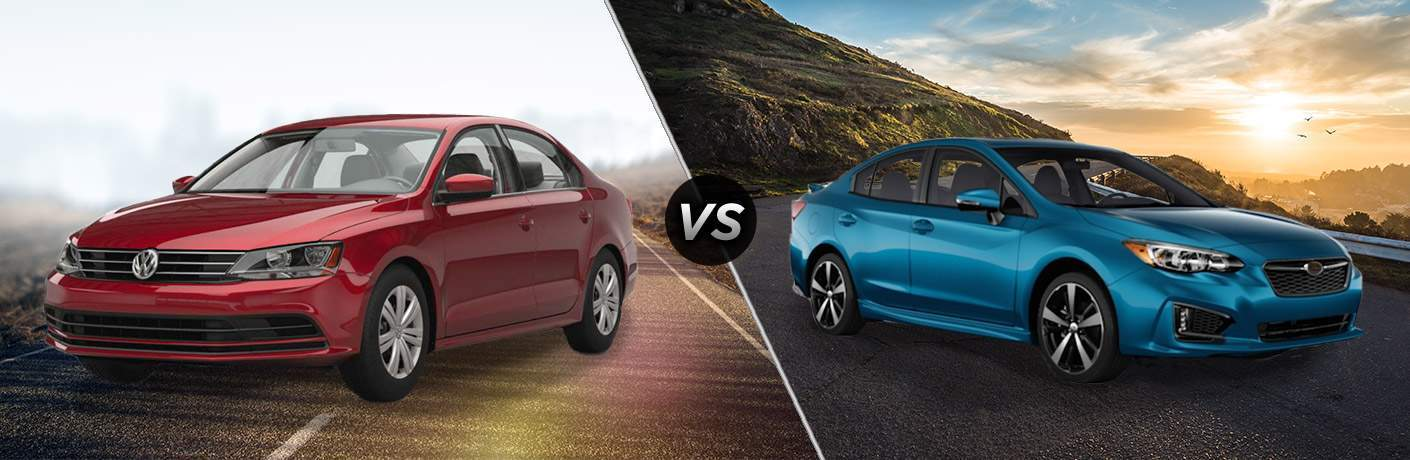 2017 Volkswagen Jetta vs 2017 Subaru Impreza