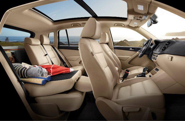 2017 Volkswagen Tiguan Beige Upholstery