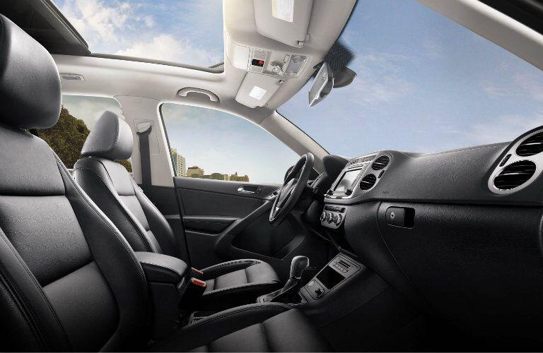 2017 Volkswagen Tiguan Black Upholstery