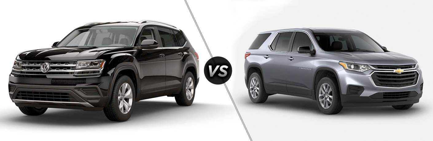 2018 Volkswagen Atlas vs 2018 Chevy Traverse