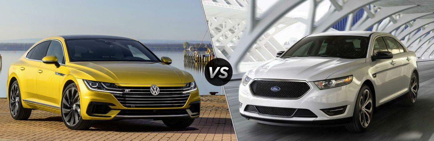 2019 Volkswagen Arteon vs 2018 Ford Taurus