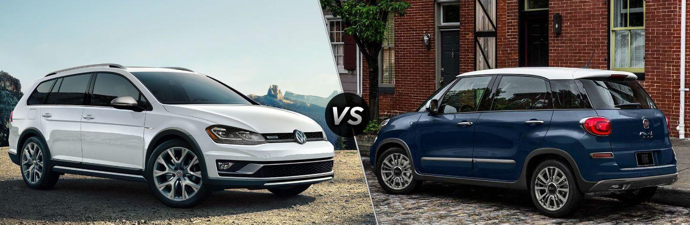2019 Volkswagen Golf Alltrack vs 2019 Fiat 500L