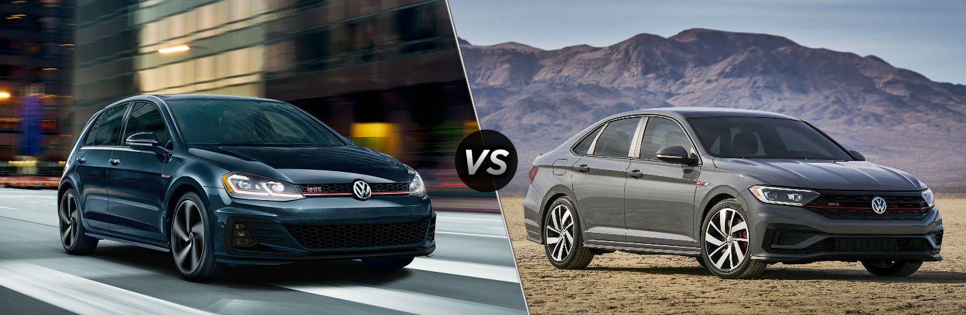 2019 Volkswagen Golf GTI vs 2019 Volkswagen Jetta GLI