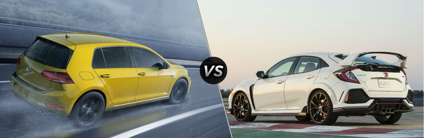 Golf R 0-60 >> 2019 Volkswagen Golf R Vs 2019 Honda Civic Type R