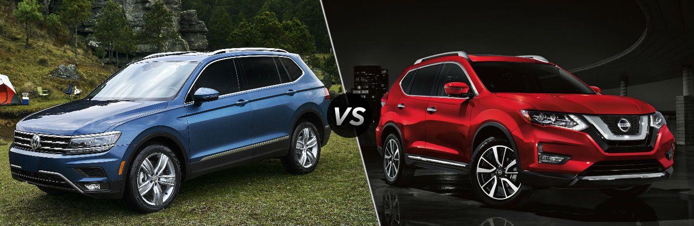 2019 Volkswagen Tiguan vs 2019 Nissan Rogue
