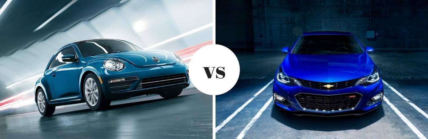 2017 Volkswagen Beetle vs 2017 Chevrolet Cruze