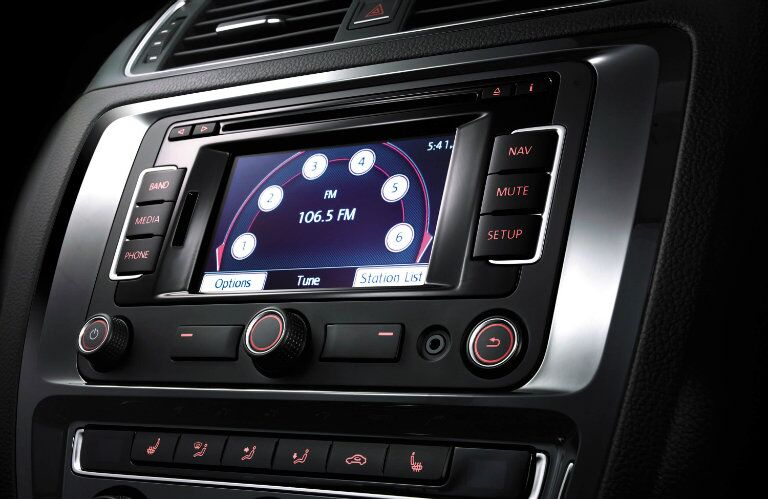 The available touchscreen system in the 2015 Volkswagen Jetta Springfield MO
