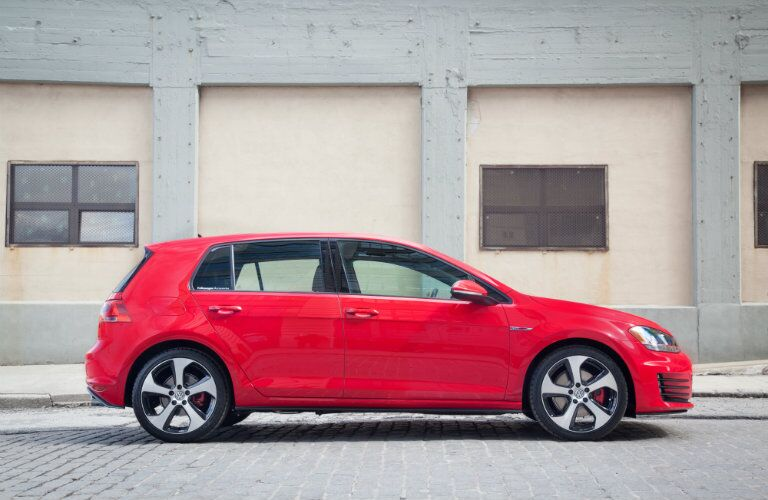 2016 VW Golf GTI exterior styling
