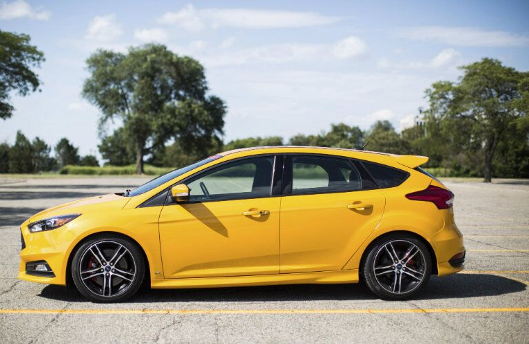Ford Focus St Exterior Cool Ford Focus St Base Dr Hatchback Exterior Exterior With Ford Focus