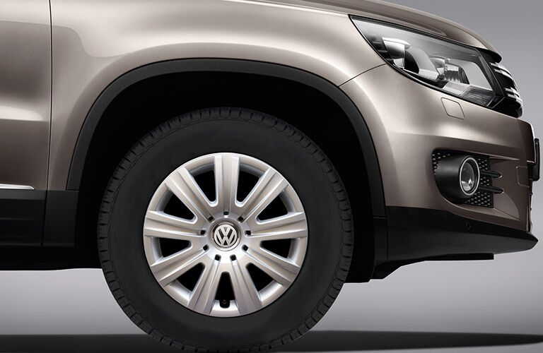 2016 Volkswagen Tiguan Wheel Options
