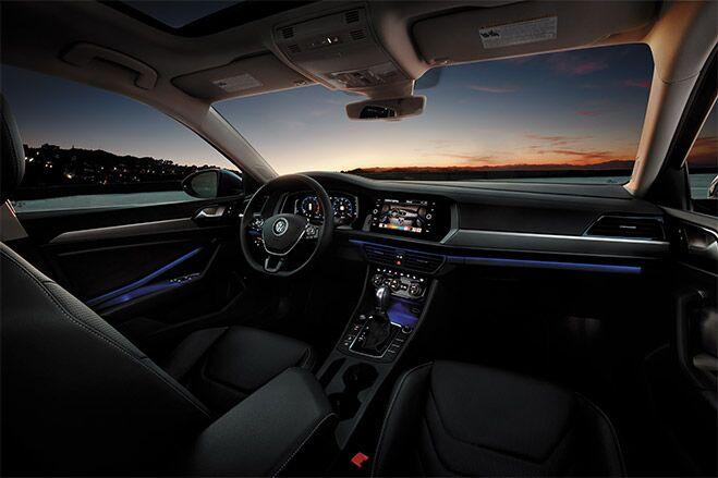 2019 Volkswagen Jetta Customizable Interior Ambient Lighting