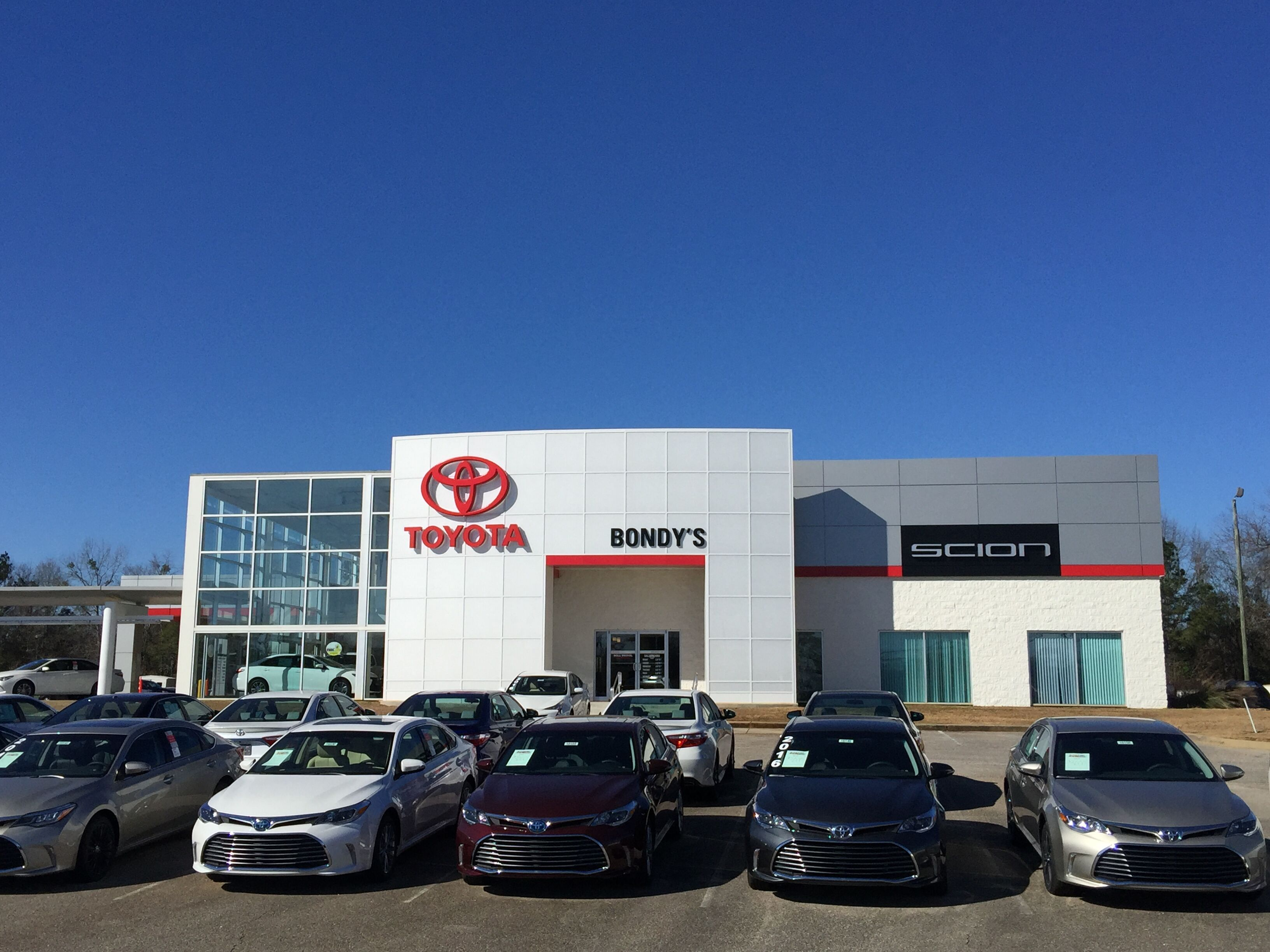 About Bondys Toyota New and Used Car Dealer