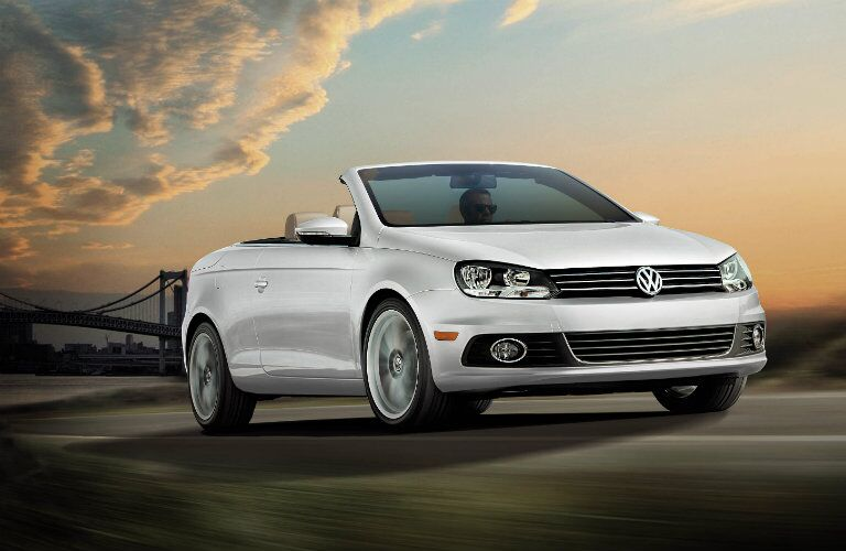 2016 Volkswagen Eos Thousand Oaks CA in pearl white paint color