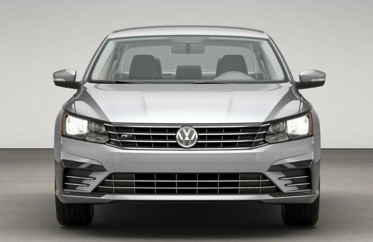 front fascia design on the 2016 vw passat r-line