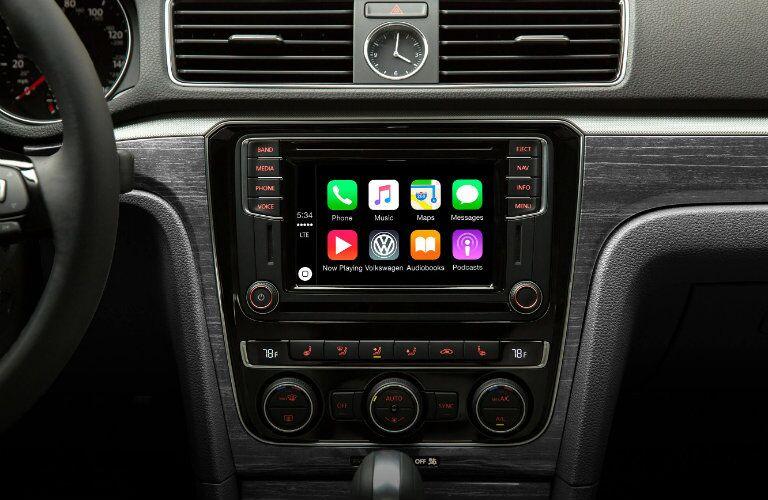 2016 passat with apple carplay infotainment