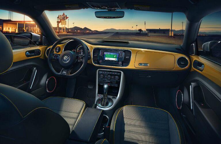 2017 Volkswagen Beetle interior front