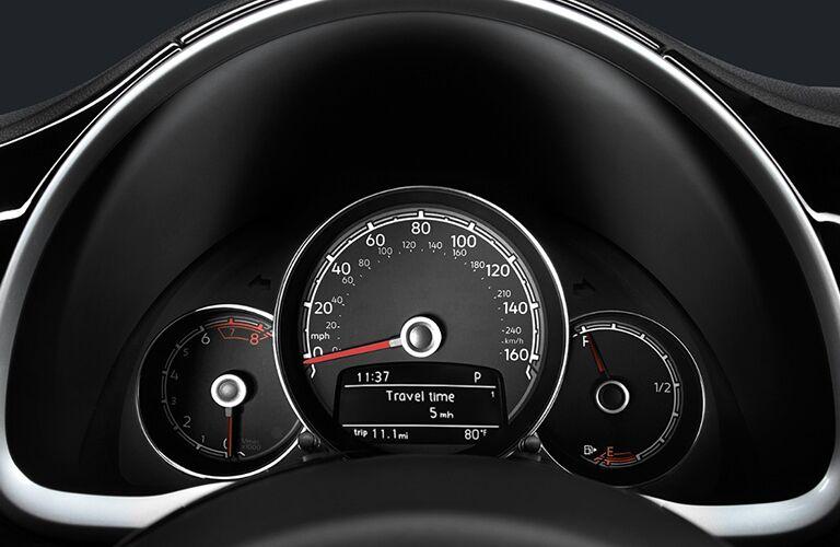 instrument panel in 2018 VW Beetle Convertible