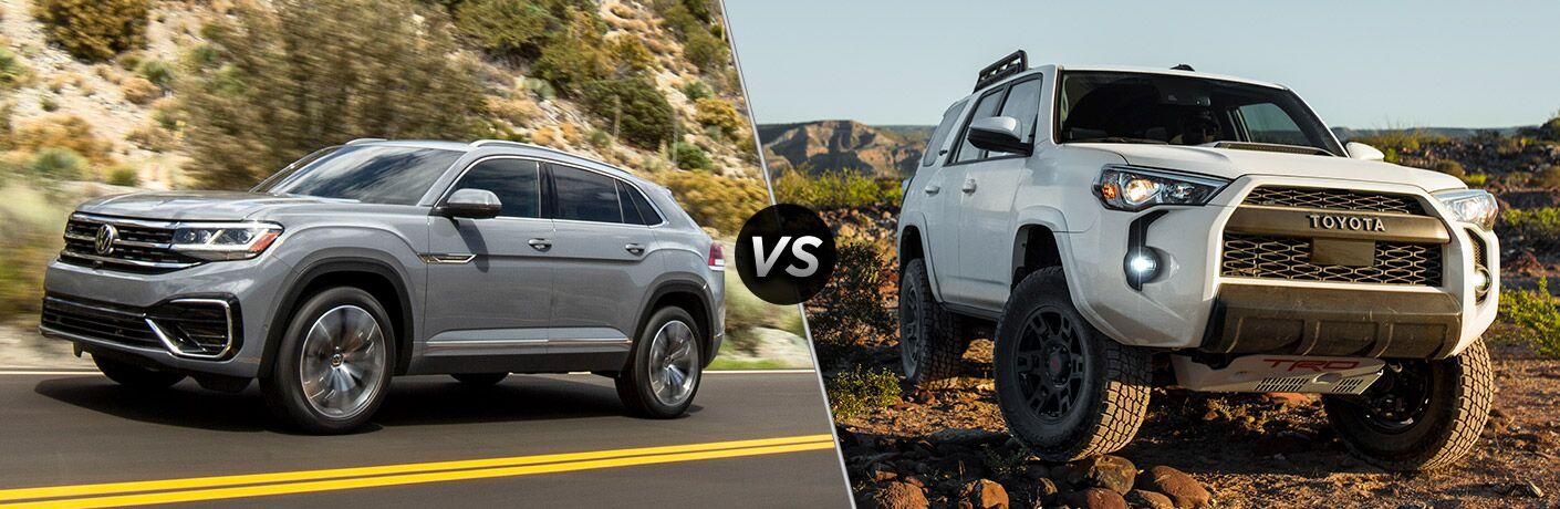 2020 VW Atlas Cross Sport vs 2020 Toyota 4Runner
