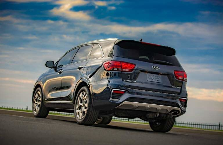 2019 Kia Sorento at sunrise