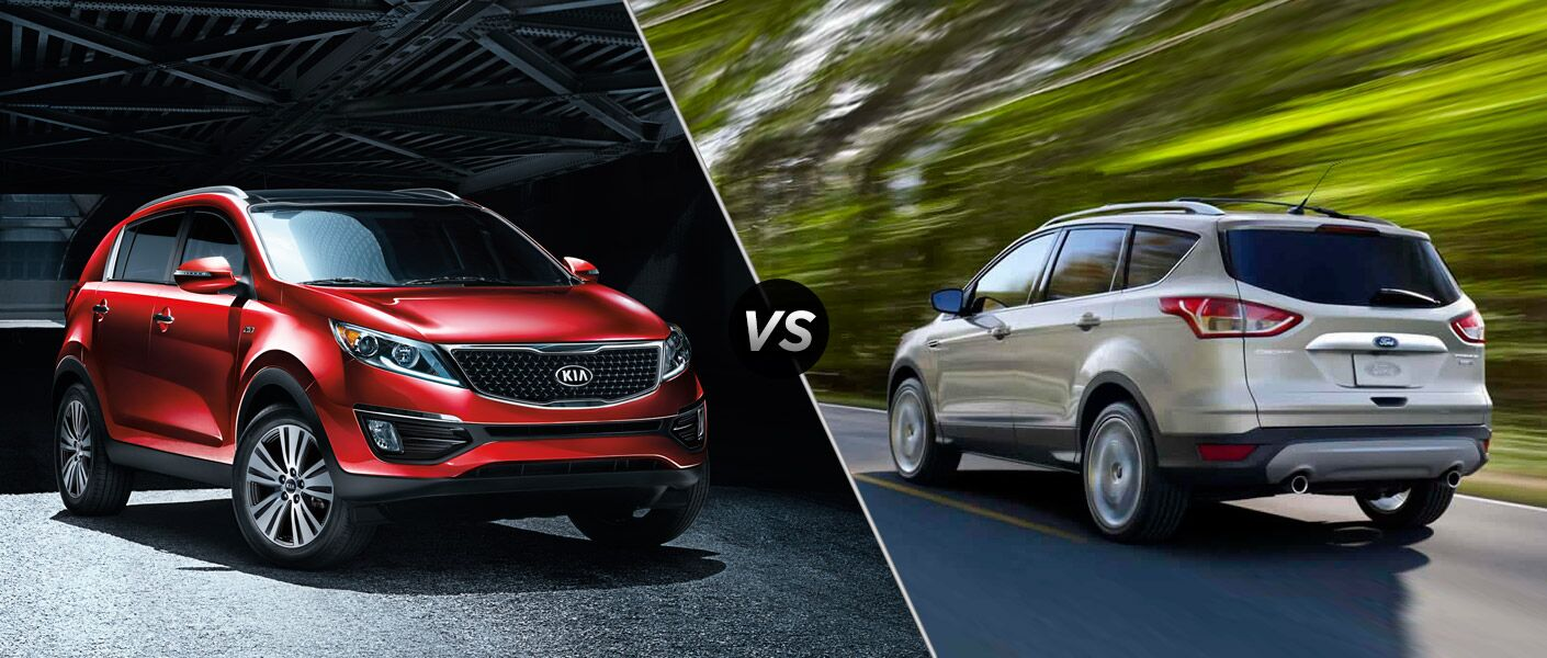 2015 Kia Sportage vs 2015 Ford Escape