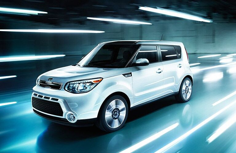 Kia Soul Exterior View in White