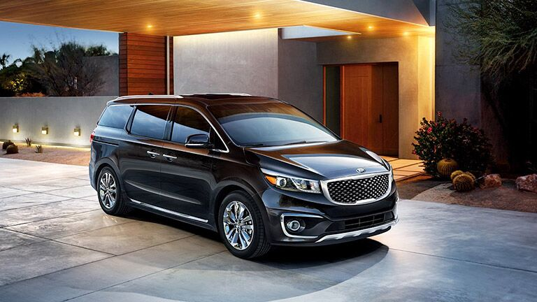 2016 Kia Sedona features comparison