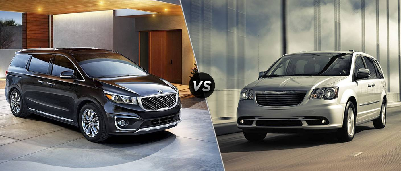 2016 Sedona vs 2016 Chrysler Town & Country