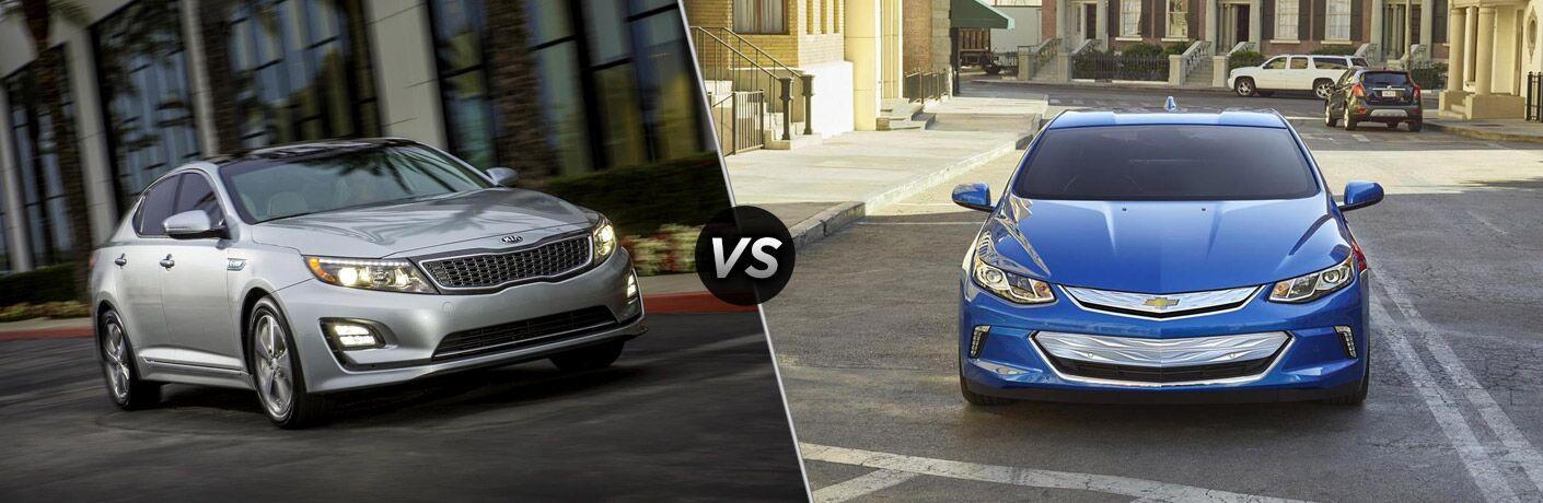 2016 Kia Optima Hybrid vs 2016 Chevy Volt