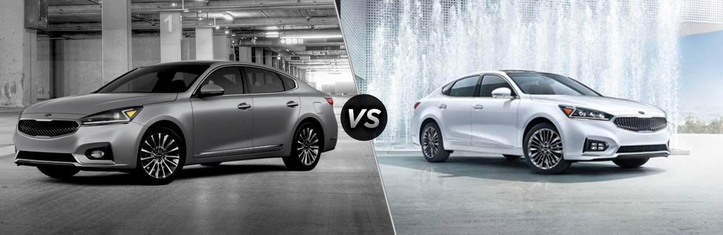 2017 Kia Cadenza Premium vs 2017 Kia Cadenza Limited