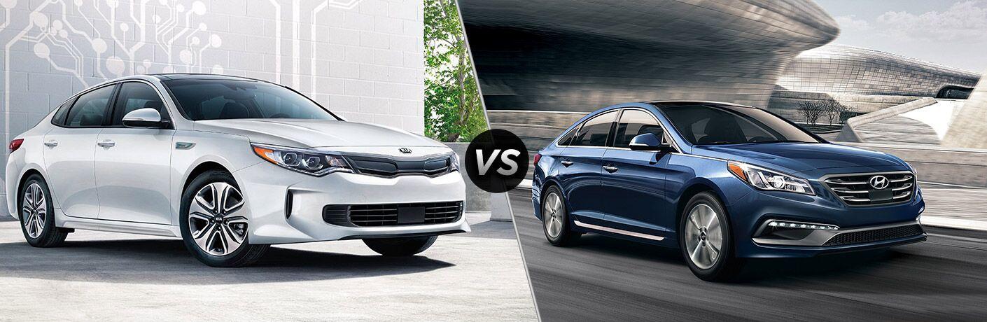 2018 Kia Optima vs. 2018 Hyundai Sonata
