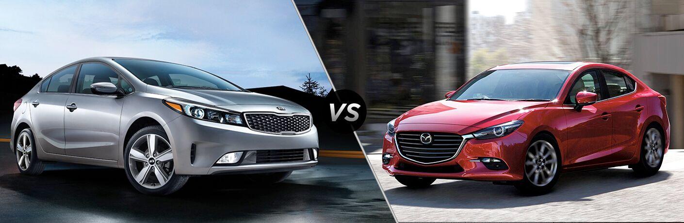 2018 Kia Forte vs 2018 Mazda3