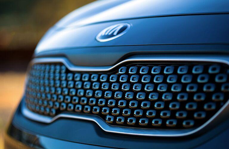 2018 Kia Niro exterior closeup of tiger nose grille
