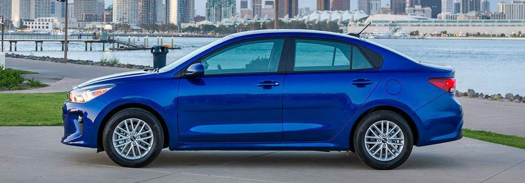 Storage and Carrying Capacities of the 2018 Kia Rio