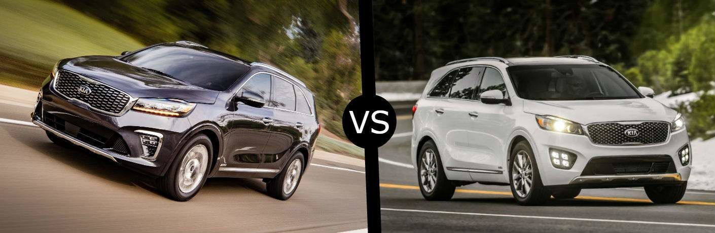 sorento fe santa kia hyundai test comparison expert bm sonata vs xl review