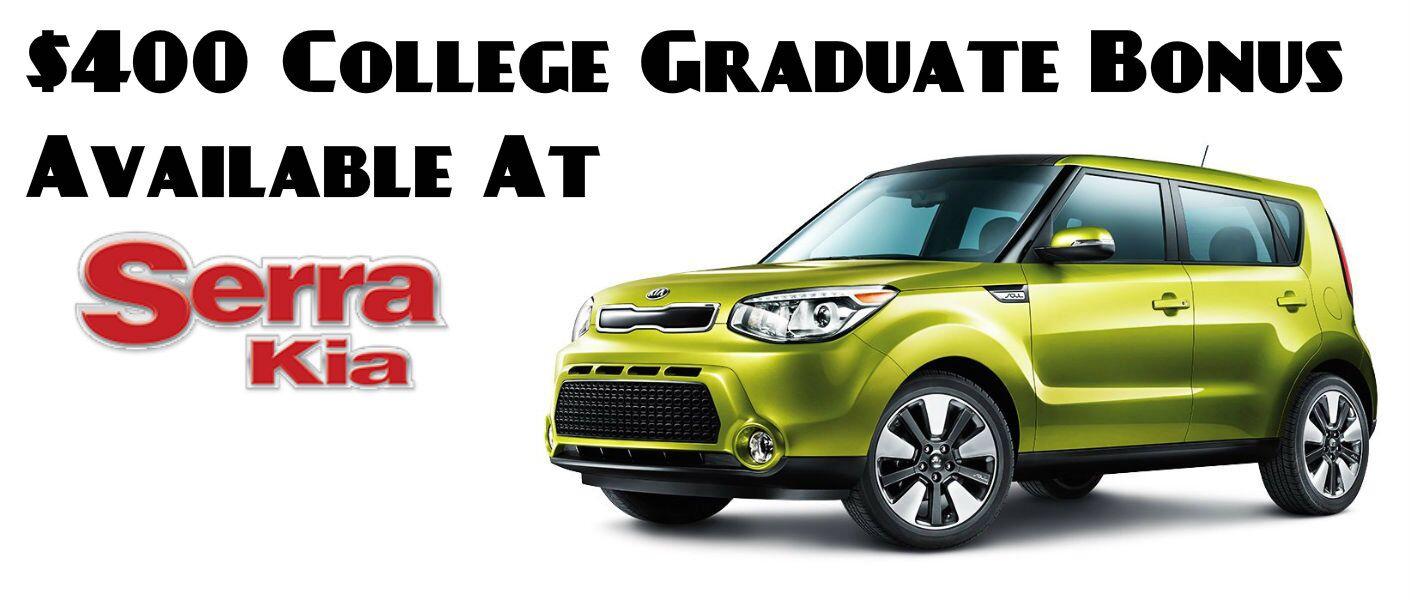 Kia College Graduate Bonus Birmingham AL
