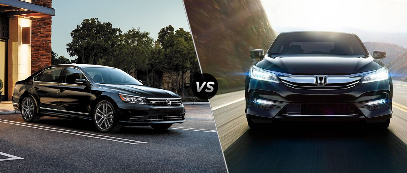 2016 Volkswagen Passat vs 2016 Honda Accord
