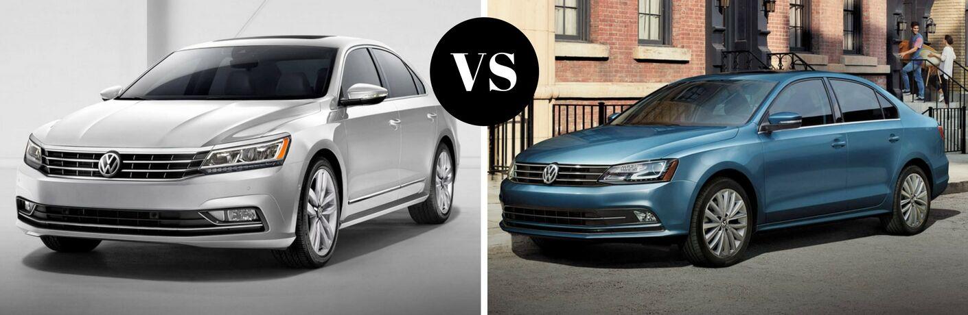 2017 Volkswagen Passat vs 2017 Volkswagen Jetta