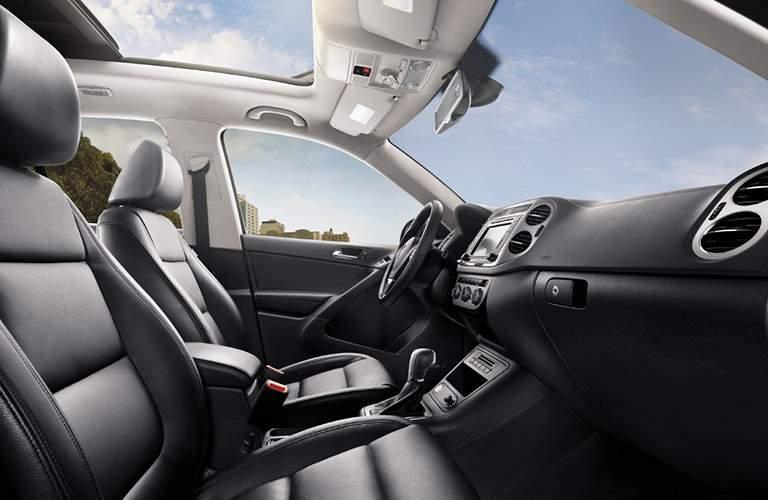 Volkswagen Tiguan Front Seating